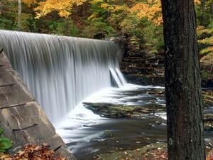Обои Водопад