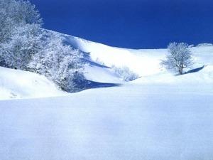 Обои Снежные холмы