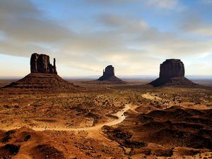 Обои Долина монументов, США