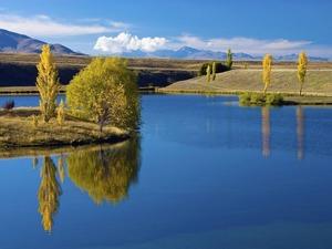 Обои Горное озеро