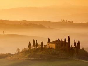 Обои Тосканский пейзаж