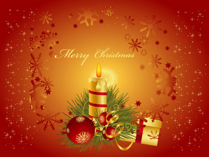 Обои Merry Christmas