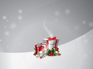Обои Новогодние подарки