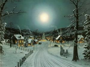 Обои Ночь перед Рождеством