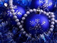 Обои для рабочего стола: Новогодние шары