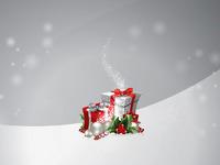 Обои для рабочего стола: Новогодние подарки