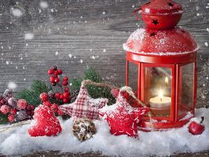 Новогодний фонарик