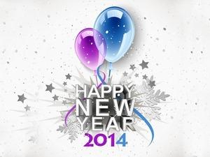 Обои Новый Год 2014
