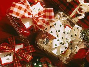 Обои Подарки