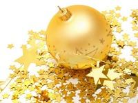Обои для рабочего стола: Золотой шарик