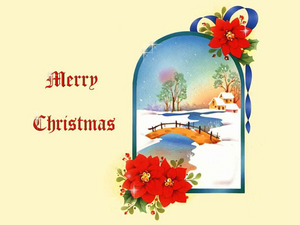 Обои Счастливого Рождества!