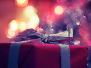 Обои Подарок