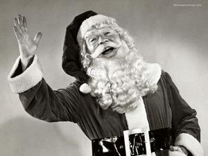 Обои Веселый Санта