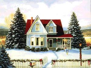 Обои Рождественское утро
