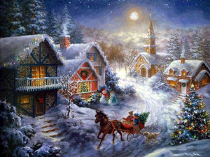 Обои Волшебное Рождество