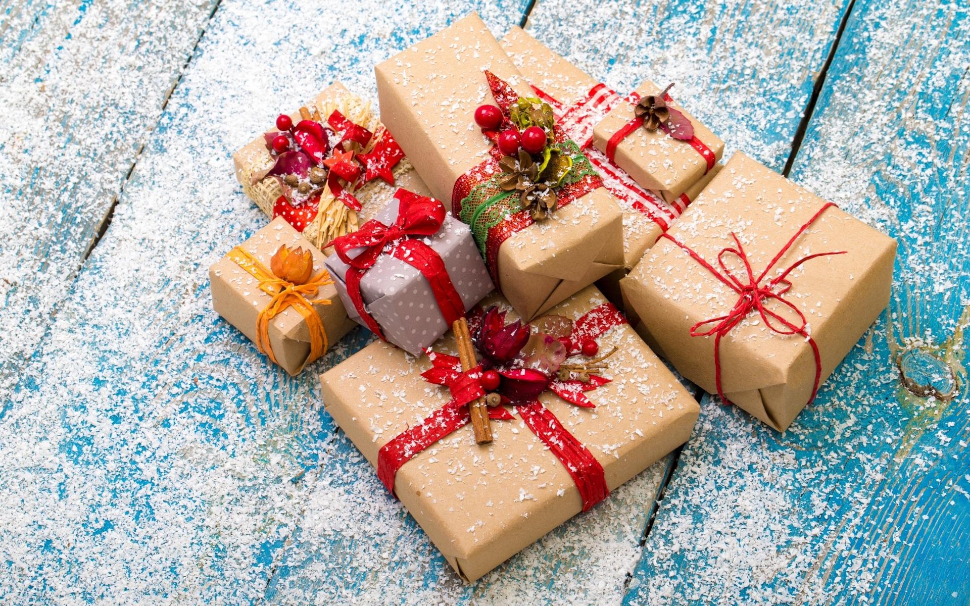 Новогодние подарки скачать фото обои для рабочего стола ... - photo#32
