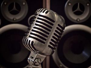 Обои Микрофон