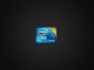 Обои Intel Core 2 Duo inside