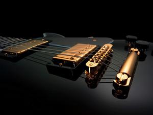Обои Гитара