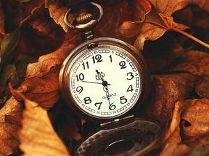 Обои Карманные часы