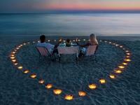 Обои для рабочего стола: Романтичный ужин