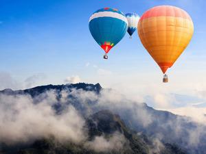 Обои Воздушные шары