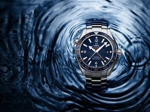 Обои Часы Omega Seamaster