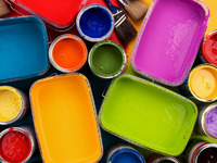 Обои для рабочего стола: Краски