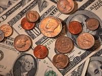 Обои для рабочего стола: Доллары, банкноты и монеты