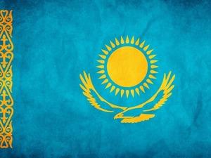 Обои Флаг Казахстана