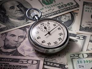 Обои Время - деньги