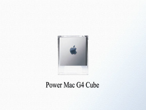 Обои Power Mac G4 Cube