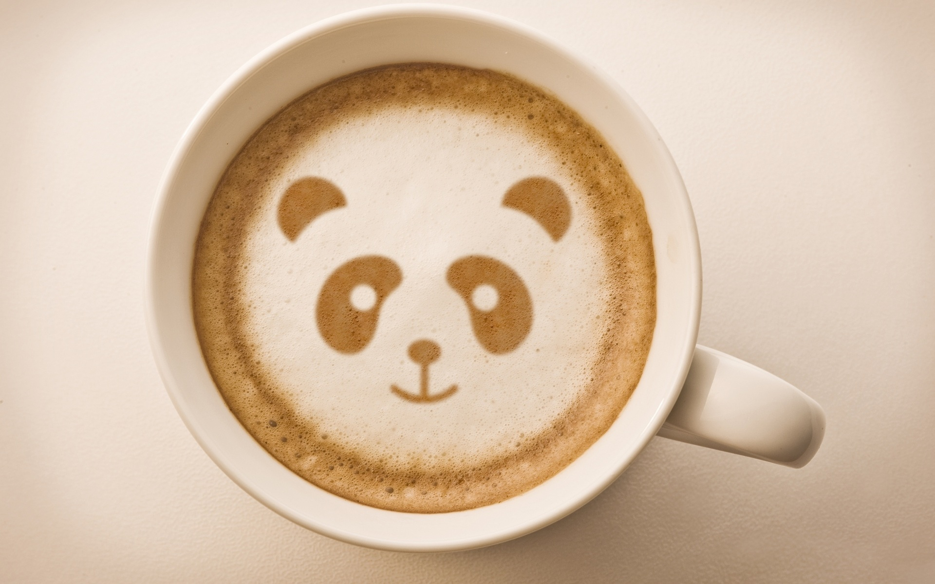 Кофейная панда