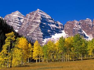 Обои Осенние горы