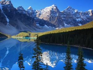 Обои Скалистые горы, Канада