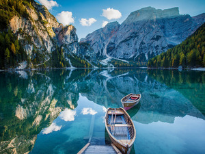 Обои Озеро в горах