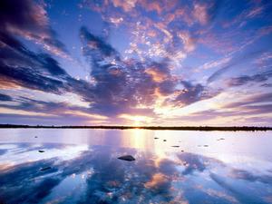 Обои Отражение восхода