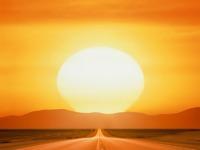 Обои для рабочего стола: Уходящее солнце
