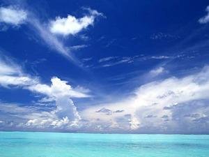 Обои Голубое небо