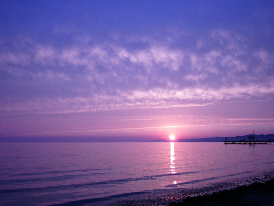 посиделочницы картинки фиолетовый закат над морем красивыми узорами будет