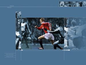 Обои Футбол: Дэвид Бэкхем