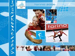 Обои Турин 2006 - Фигурное катание - Золото - Татьяна Тотьмянина и Максим Маринин