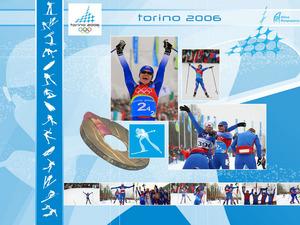 Обои Турин 2006 - Лыжная эстафета 4x5 км