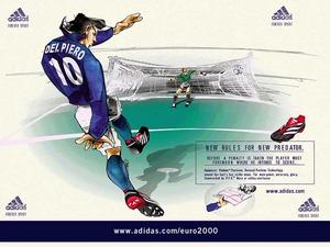 Обои Футбол: Евро2000, Дель Пьеро