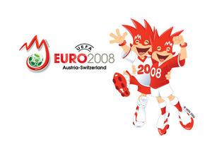 Обои Евро 2008: Трикс и Фликс