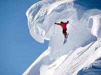 Обои для рабочего стола: Горный лыжник
