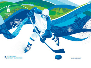 Обои Хоккей, Ванкувер 2010