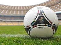 Обои для рабочего стола: Официальный мяч ЧЕ 2012, Танго 12