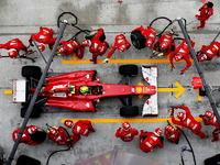 Обои для рабочего стола: Феррари. Формула 1