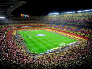 Обои Стадион Камп Ноу, Барселона, Испания